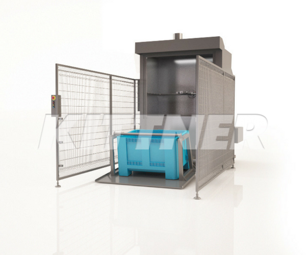 Industrial Washer for 200 l Buggy or 630 l Container