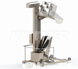 The column lifters – ergonomic and safe material handling in the food industry